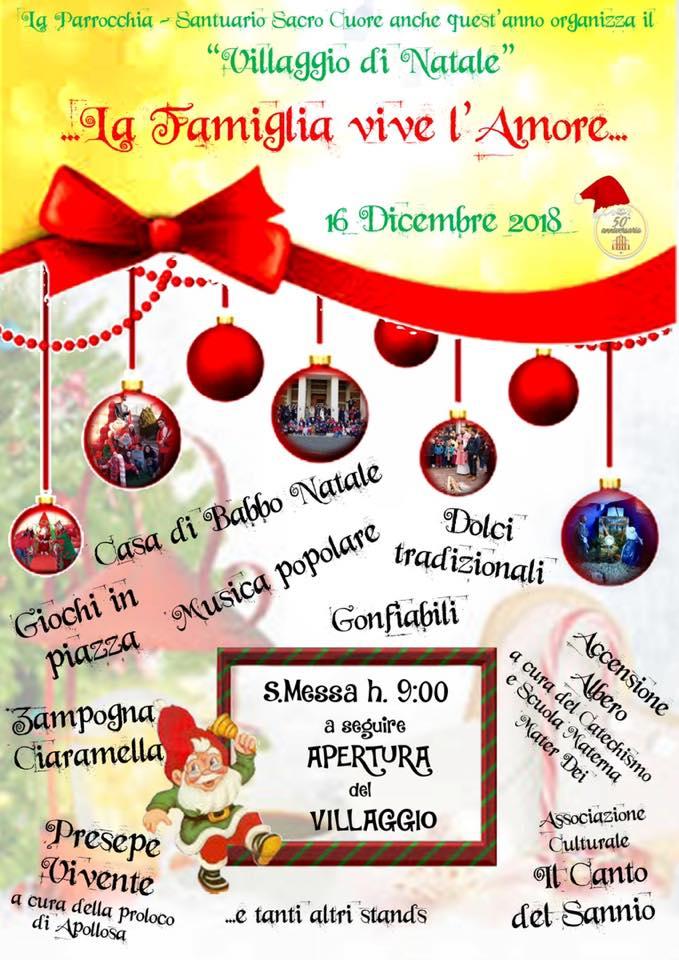 Giochi Dei Dolci Di Natale.Il Villaggio Di Natale Chiesa Di Benevento